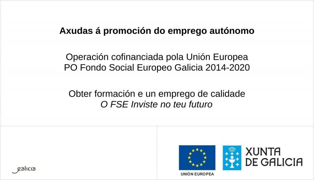 Xunta de Galicia - Axudas á promoción do emprego autónomo